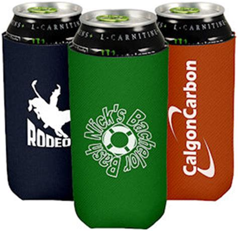 16 oz Tall Boy Coolies   Custom Koozies   Cheap Personalized Wedding Koozies