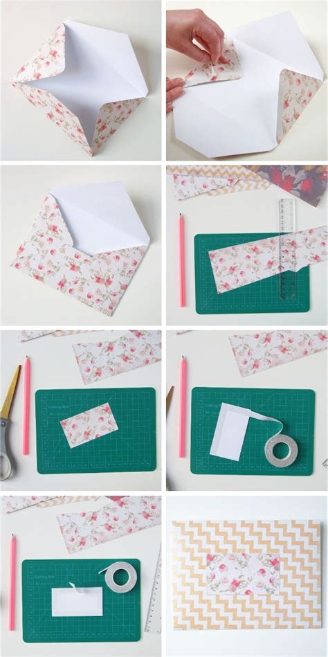 How To Make Your Own Scrapbook Paper - best 25 paper envelopes ideas on diy envelope