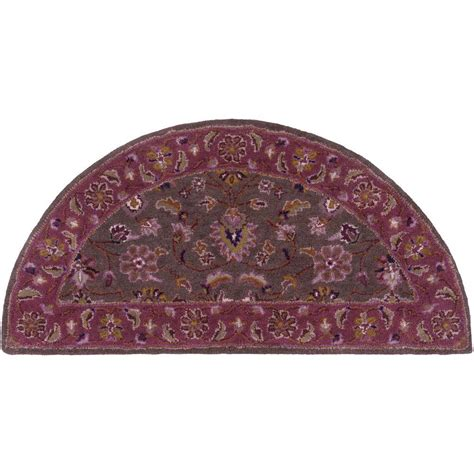 eggplant rug artistic weavers ghazan eggplant 2 ft x 4 ft hearth indoor area rug s00151007457 the home depot