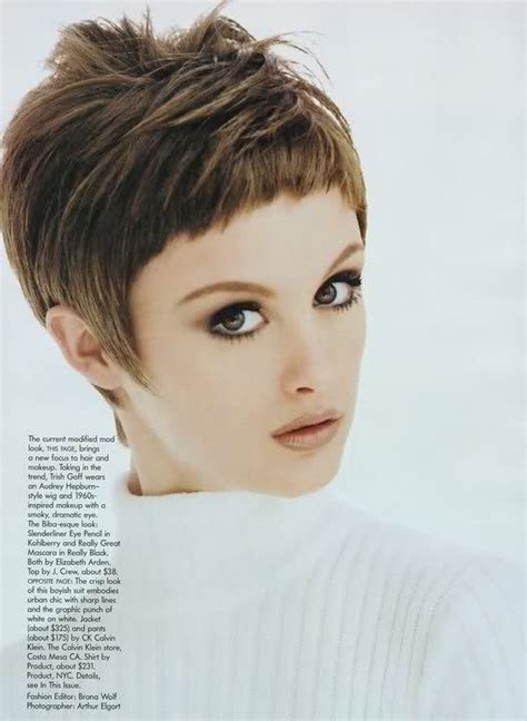 hairdresser photos of pixie haircuts short pixie haircut with face framing fringe uptown