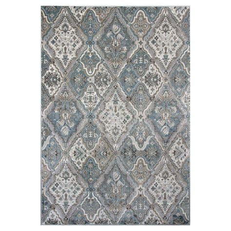 7 X 11 Area Rugs by Kas Rugs Vintage Grey 7 Ft 10 In X 11 Ft 2 In