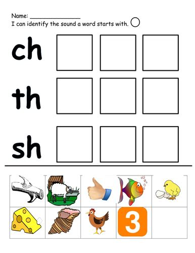 Ch Worksheets by Ch Th And Sh Cut And Stick By Klms87 Teaching
