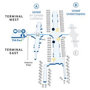 denver international den airport map united airlines