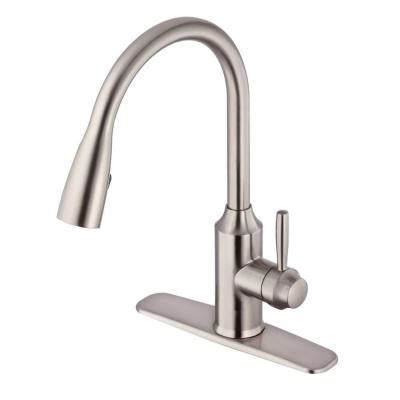 glacier bay kitchen faucet installation glacier bay invee 8 in single handle top mount pull down