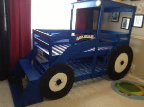 Toddler Boy Truck Bed Pdf Diy Deere Tractor Bunk Bed Plans King
