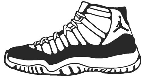 free coloring pages jordan shoes free coloring pages of all jordan shoes
