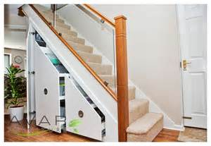 stairs storage in