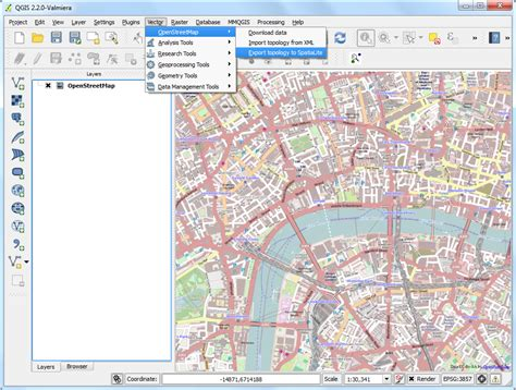 cara membuat layout qgis searching and downloading openstreetmap data qgis