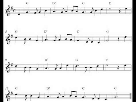 new year simple song free violin sheet notes auld lang syne
