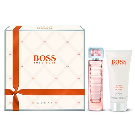 hugo boss boss orange woman eau de toilette 50ml body