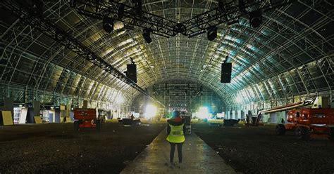 creamfields steel yard superstructure set