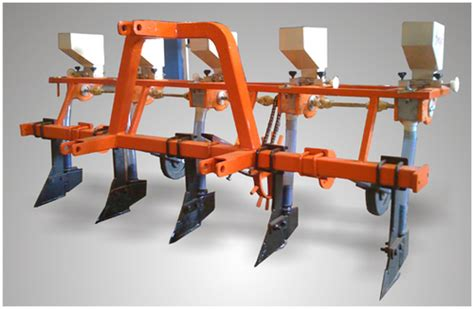 Automatic Seed Planter tractor operated automatic maize and garlic seed planter