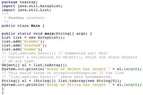 how to declare string in java lists