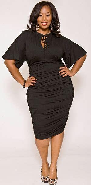 plus size fat curvy models short hair little black dress confessions of a cute curvy girl