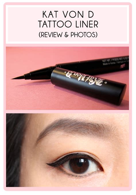tattoo liner kat von d be linspired d liner review