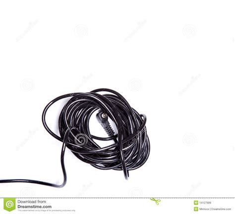 black electric wire royalty free stock images image