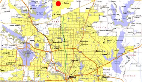 map of dallas and suburbs untitled document www southstardevelopment