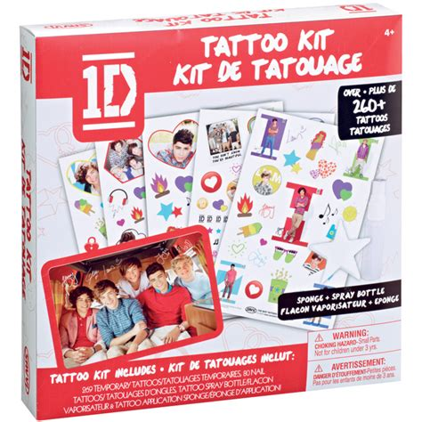 one direction temporary tattoos tagz one direction kit new version ebay
