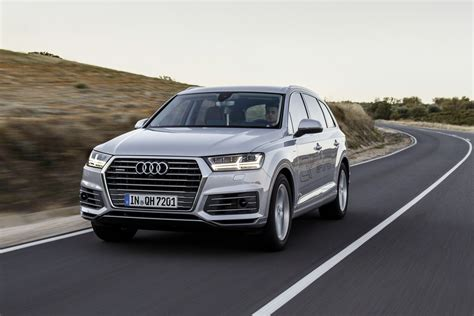 audi germany 2016 audi q7 e quattro launched in germany 0 to 100