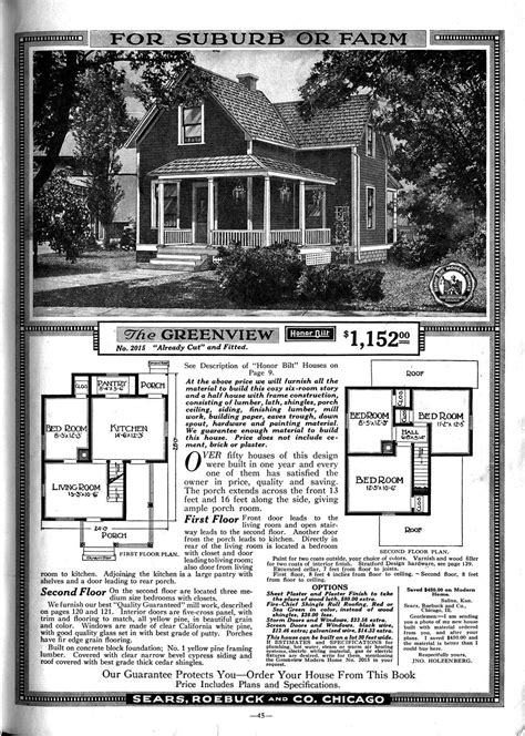 sears house plans the philosophy of interior design early 1900s part 4