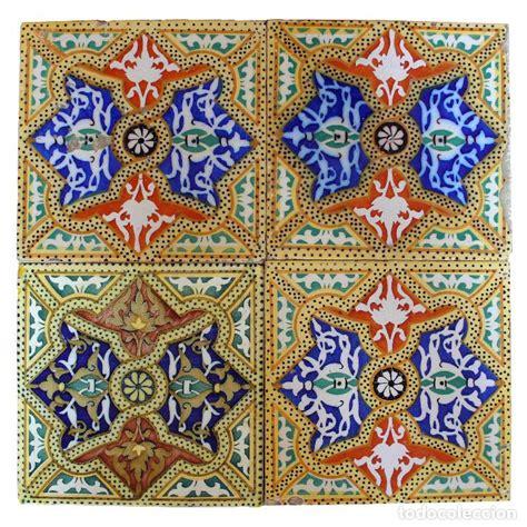 azulejos modernistas cuatro baldosas azulejos modernistas antiguas o comprar