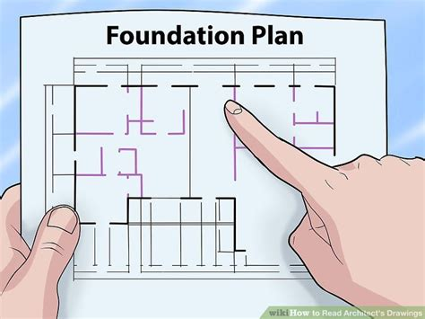 how to read plans how to read architect s drawings with pictures wikihow