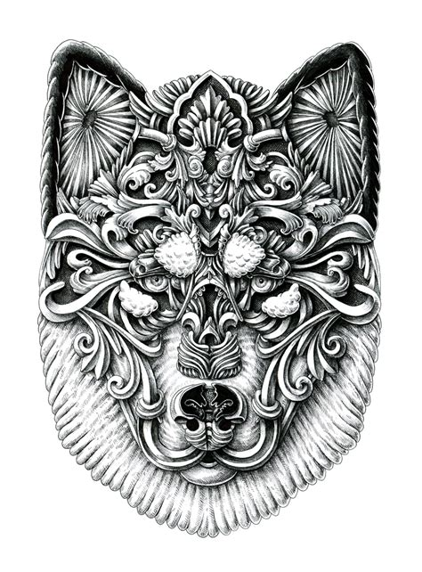 tattoo pen for dogs new ornate ink portraits of lovable dogs by alex konahin
