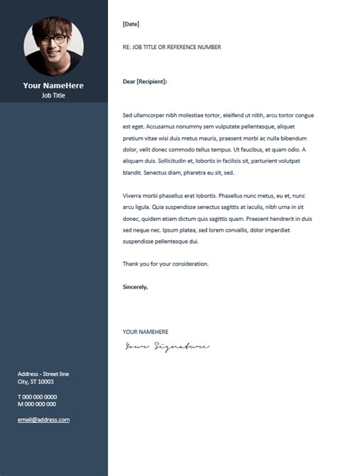 free professional cover letter template orienta free professional resume cv template