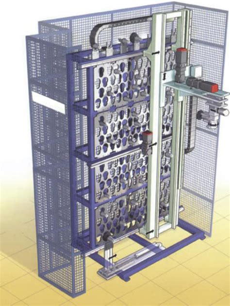 Rack Application Application Rack Type Automatic Tool Changers