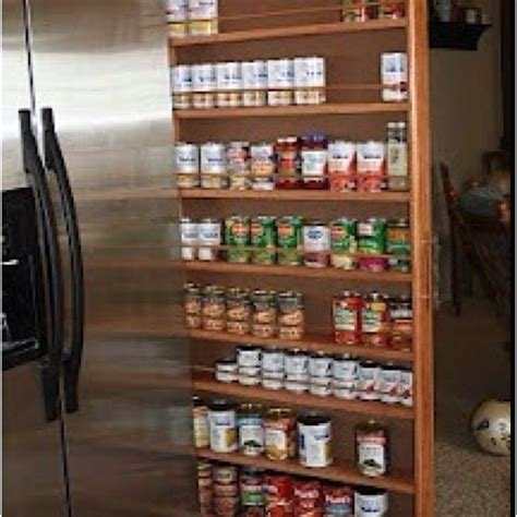 diy sliding spice rack sliding spice rack plans woodworking projects plans