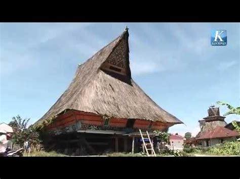 rumah adat karo siwaluh jabu  desa lingga youtube