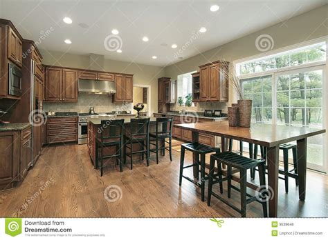 upscale kitchen cabinets upscale kitchen wood cabinets stainless royalty free stock