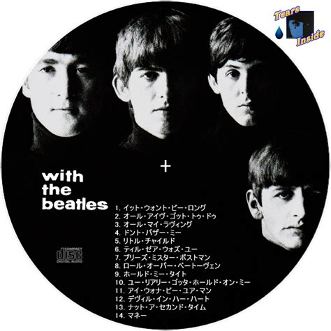 Cd The Beatles One Deluxe Dvd Imported Usa ザ ビートルズ ウィズ ザ ビートルズ the beatles with the beatles 日本語版 tears inside の 自作 cd dvd ラベル