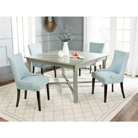 Safavieh Bleeker Ash Gray Dining Table Amh6643c The Home Grey Ash Dining Table