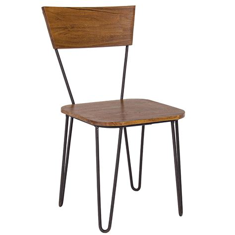 sedie bizzotto bizzotto sedia edgar in legno di acacia cod 3028