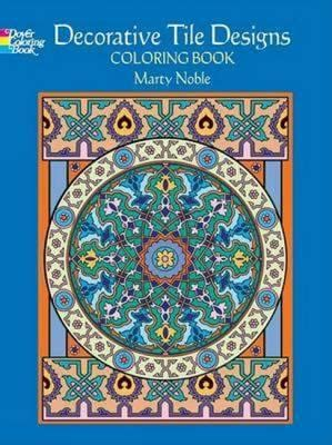 marty noble s cats around the world new york times bestselling artists coloring books books decorative tile designs marty noble 9780486451954