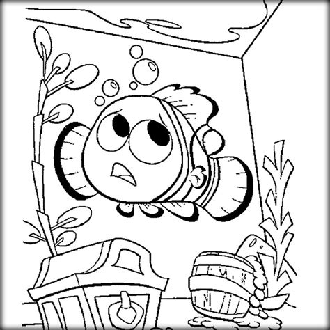 finding nemo coloring pages online finding nemo movie coloring pages to print color zini