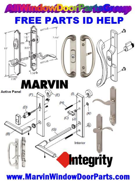 marvin window  door hardware integrity weather strip