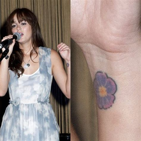 leighton meester tattoo leighton meester s tattoos meanings style