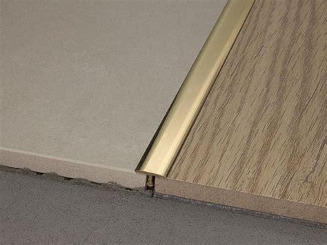 profilo pavimento profilo per pavimento a pari livello a quot t quot da 14 in ottone