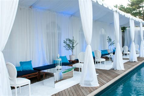 Backyard Wedding Toronto For A Recent Pool Party The Team At Swank Productions