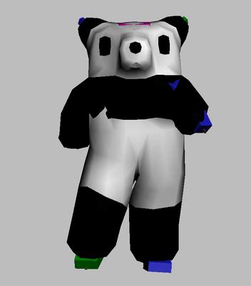 Panda Bip bip 篌3dmax 篏豎