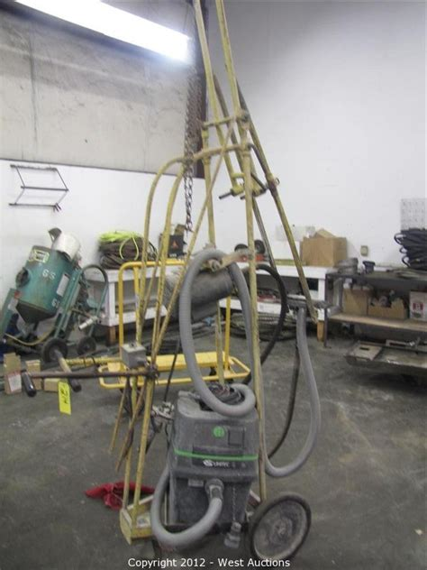 Concrete Ceiling Grinder by West Auctions Auction Complete Sellout Of Bay Area