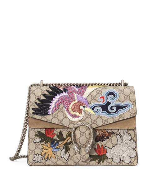 Harga Tas Gucci Dionysus Flower gucci dionysus medium bird embroidered shoulder bag multi