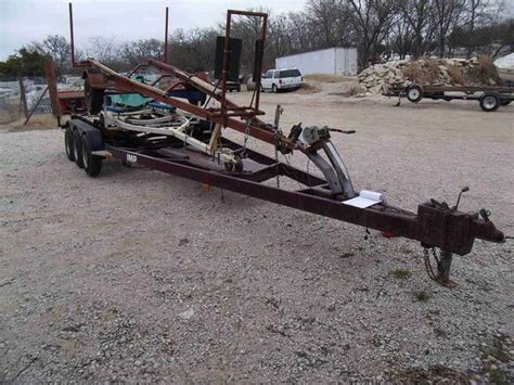 boat trailer triple axle used triple axle boat trailer for sale