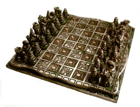 ancient chess ancient omen chess set by goomba 2007 on deviantart