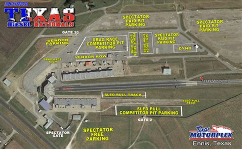 texas motorplex map nhrda news archive