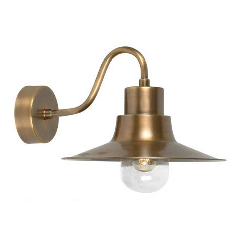 Brass Outdoor Lighting Elstead Lighting Sheldon Brass Wall L At Love4lighting