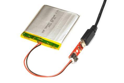 lade a batterie battery technologies learn sparkfun