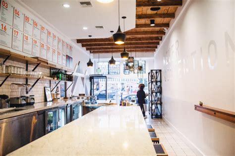 design cafe juice a modern juice bar designed by bells whistles design milk